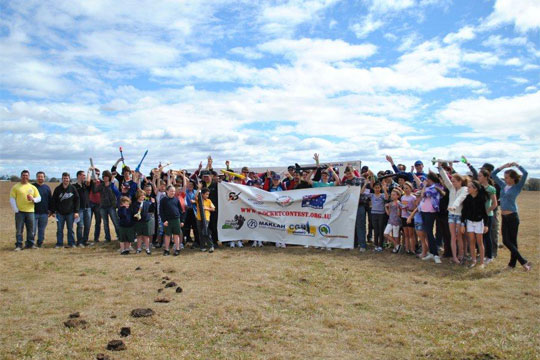 Australia Youth Rocketry Challenge Contestants 2010